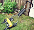 Fiskars Reel Mower by Pith and Torch