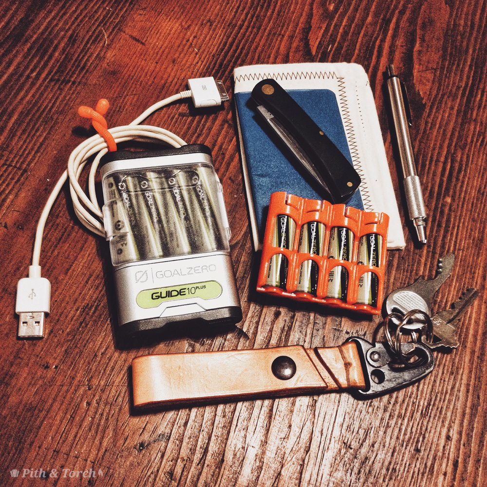 Goal Zero Charger Everyday Carry by Pith and Torch