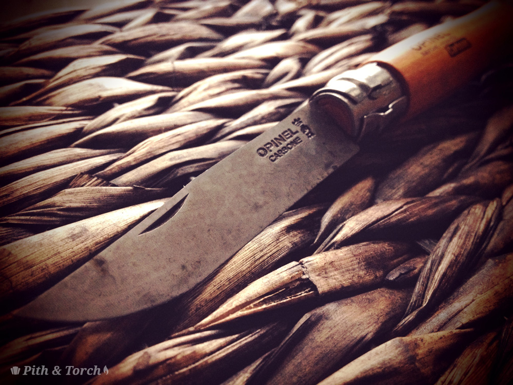 Opinel No 8 Knife Detail by Pith and Torch